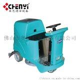电动驾驶式单刷擦地拖地清洗设备 全自动洗地机
