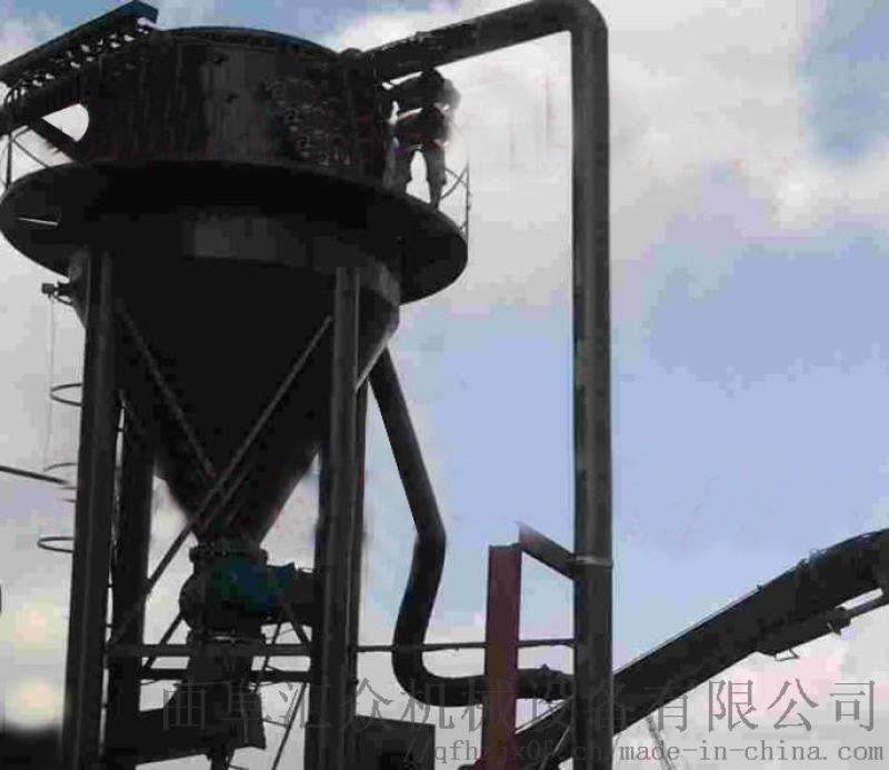 正壓通風櫃 粉煤灰裝車輸送機 六九重工 多個閉風器