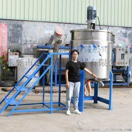 多功能电加热乳化搅拌罐 不锈钢化工液体搅拌机