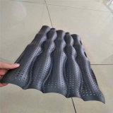 橢圓造型鋁單板 體育中心外牆雙曲鋁單板