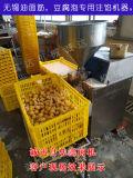 新型豆腐泡灌餡機器,自動灌餡機器,豆腐泡灌餡機