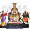 訂做雷祖大帝神像 雷公雕塑 四海龍王佛像廠