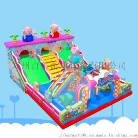 小型的儿童充气城堡经营一个人就能完成