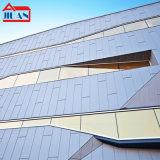 江蘇單曲鋁單板雙曲鋁單板木紋鋁板銅拉絲烤瓷