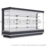 超市冷柜敞开式风幕柜 水果保鲜柜 便利店展示冷柜