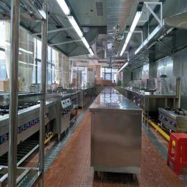 广州唐阁商用厨房设备加工制作设计安装公司