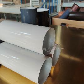 厂家供应大口径雨水管 铝合金110圆管厚度