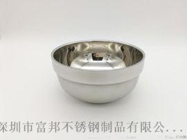 不锈钢铂金碗白金碗学校食堂饭菜汤碗