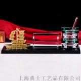 工厂开业礼品,公司周年庆礼品,水晶内雕办公摆件
