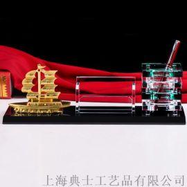 工厂开业礼品,公司**礼品,水晶内雕办公摆件