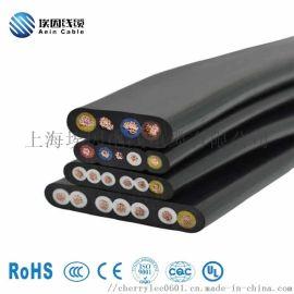 H05VVH6-F扁电缆CE认证扁电缆