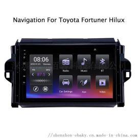 车载GPS导航适用于丰田奔跑着