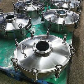 发酵设备 玻璃发酵罐 卫生级椭圆人孔