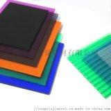 佛山松夏建材PC耐力板采光遮阳透明塑料板生产厂家