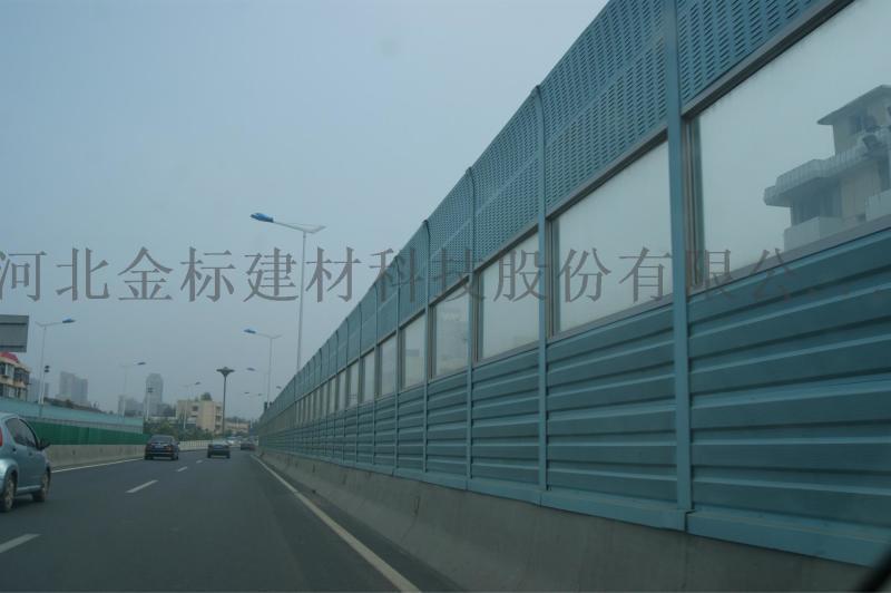 江苏无锡声屏障生产商_吴桥声屏障维修养护_新联家园小区高架桥声屏障