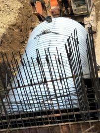 隧道加固波纹板 钢波纹涵管厂家定制