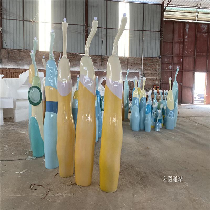 清远景观玻璃钢雕塑定做厂家 房地产开业装饰摆件