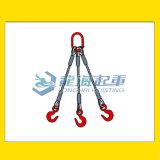三肢鋼絲繩成套索具,龍海起重廠家