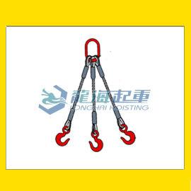 三肢钢丝绳成套索具, 龙海起重厂家