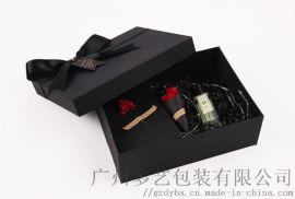 广州礼盒包装厂化妆品礼品通用精美礼盒包装定制