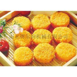 食品上浆机 上粉机裹面包糠机 上面包片设备