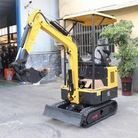 山地开荒小型挖土机 22多功能迷你挖掘机