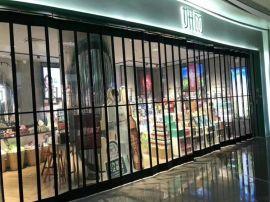 烟台商场水晶折叠门水晶卷帘门