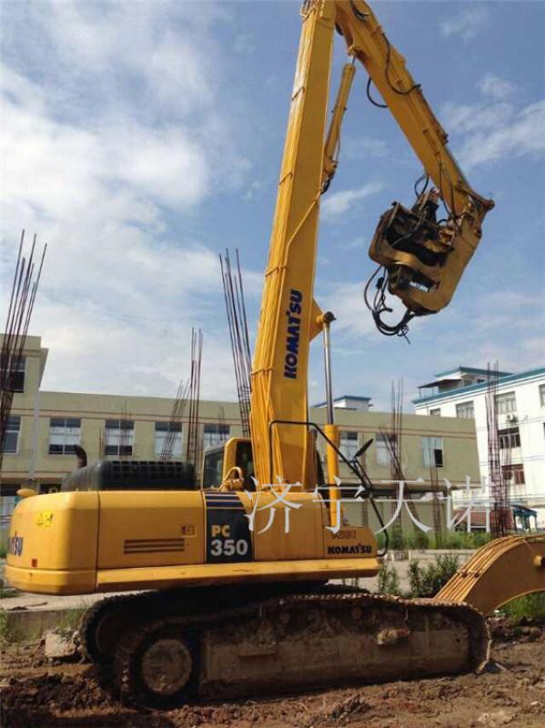 厂家生产销售挖掘机打桩臂 13-18米打桩机臂