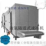 大型海产品速冻机 不锈钢水饺速冻机
