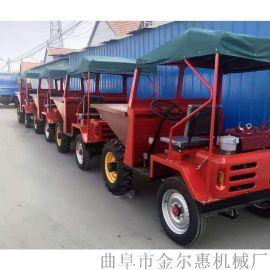 全新自装自卸式运输翻斗车/高质量运输用一吨翻