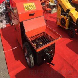 浇筑二次结构的小型混凝土输送泵让工人满意的机器