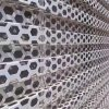 外牆衝孔鋁板網/奧迪4s店外牆裝飾網高顏值
