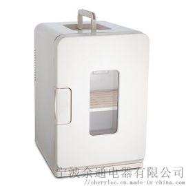 余通15L立式制冷制热电子冰箱 车用家用车载冰箱