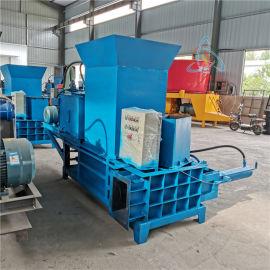 牛羊青储饲料压块机, 牧草发酵秸秆压块机