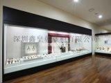 电动遥控平移门博物馆展柜定做,深圳博物馆展柜厂家