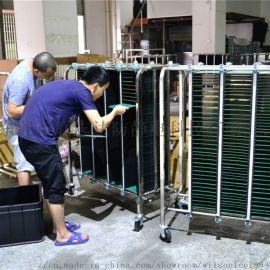 廠家定制不鏽鋼ESD防靜電PCB周轉車防靜電手推車