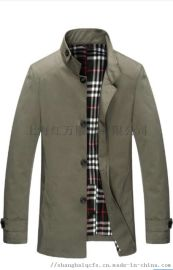工作服夾克衫定制 工裝夾克定制 上裝上衣定制