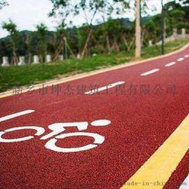 黑色沥青路面薄层改色  彩色沥青道路