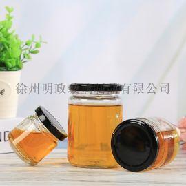 玻璃罐头瓶密封瓶酱菜瓶圆形果酱瓶辣椒酱瓶腐乳瓶