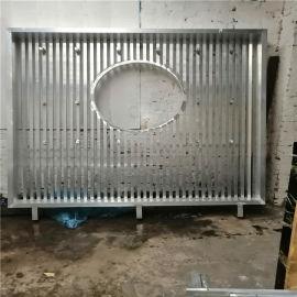 铝花格表面处理 铝合**格设计安装厂家