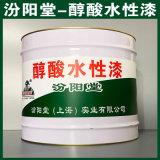 醇酸水性漆、防水,防漏,性能好