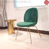 北欧风甲壳虫餐椅简约现代休闲椅
