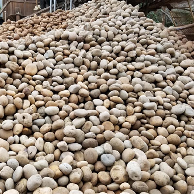 鹅卵石滤料生产厂家_污水处理鹅卵石_重庆荣顺生产