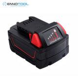 適用於18V米沃奇電動工具鋰電池M18XC18B
