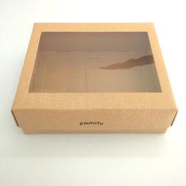 厂家定做牛皮纸包装盒
