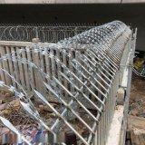 鍍鋅刀片刺網刺繩刺絲滾籠安裝