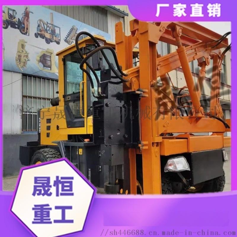 打桩机 地基 建筑工程 大型 打桩机钻孔一体机