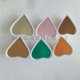 石茂供应烧结彩色玻璃微珠 环氧填缝剂 反光粉