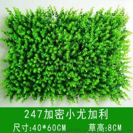 模擬植物綠值牆門頭招牌吊頂景觀綠草裝飾塑料花假草坪