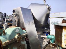 二手2吨3吨双螺旋锥形混合机